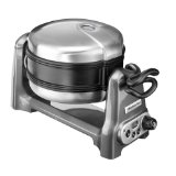 kitchenAid KWB100EPR Waffelautomat metallic